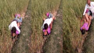 देहाती गफ़ खेत में चुदाई आउटडोर सेक्स एमएमएस