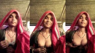 बंजारन लड़की की सेक्सी चुचि दिखाई एमएमएस वीडियो