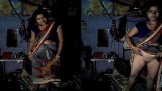खूबसूरत बिहारी भाभी के सेक्सी चूत दिखाई एमएमएस